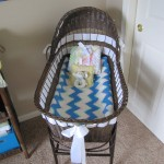 The bassinet. The same one Annie had as a baby.