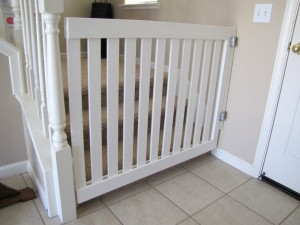 New gate for baby and Dexter