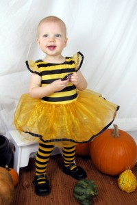 Frances as a Bumble Bee