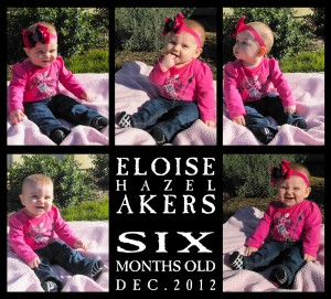 Eloise at 6 Months